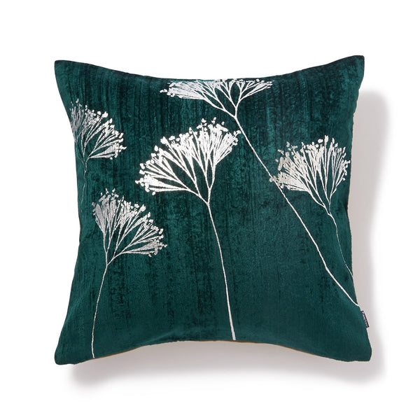 PLANTED CUSHION COVER Green