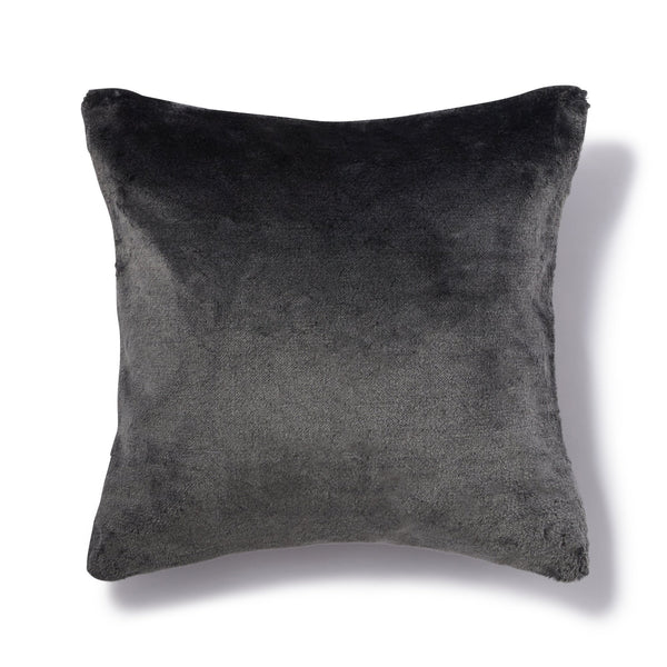 GRAZIA CUSHION COVER DARK GRAY