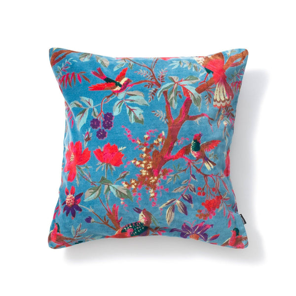 ALBIRD CUSHION COVER Blue
