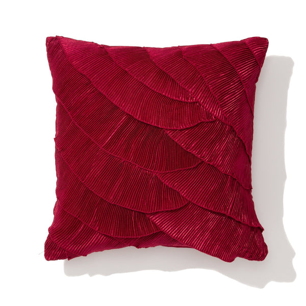PETALE CUSHION COVER Red