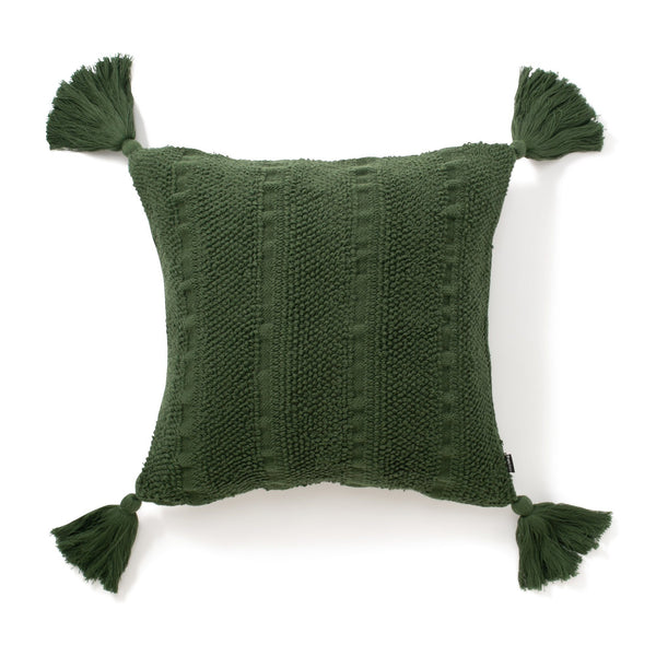 TASSICAL CUSHION COVER GREEN