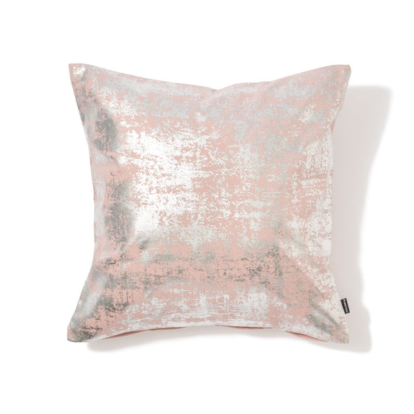 SILVERIA CUSHION COVER Pink x Sliver