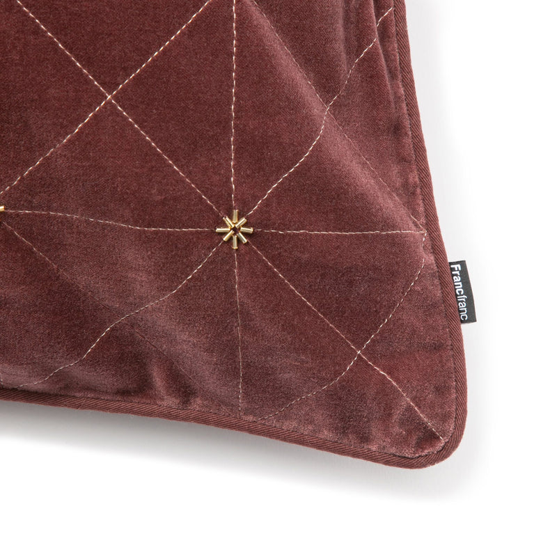 STARTEI CUSHION COVER BROWN