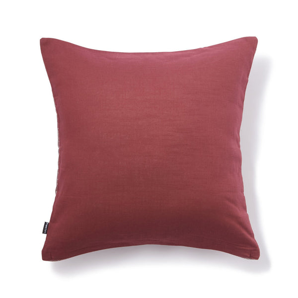 DAZZLEY CUSHION COVER DARK RED