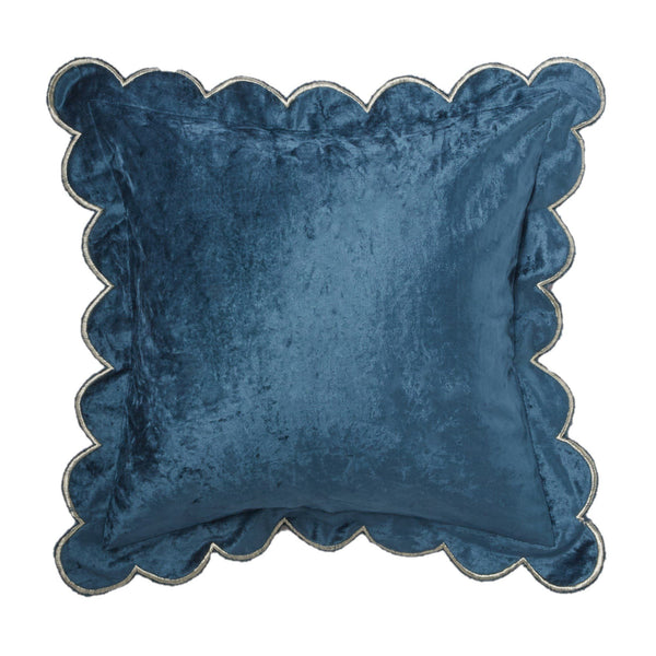 FRILLON CUSHION COVER NAVY
