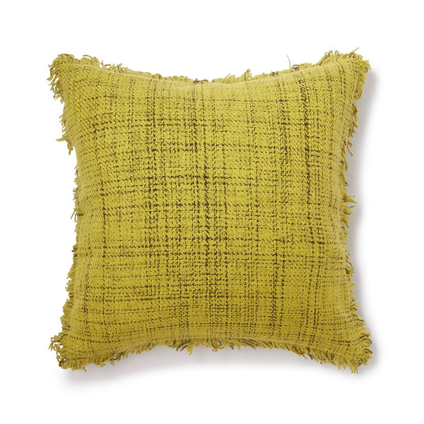 TWEEDDA CUSHION COVER YELLOW