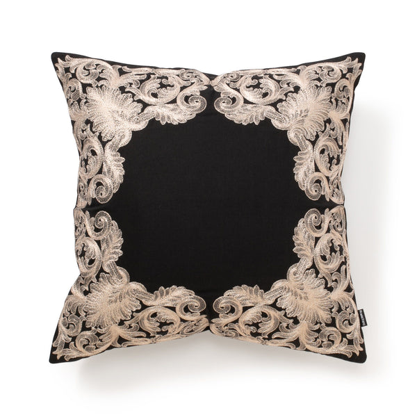 EMBREU CUSHION COVER Black x Gold