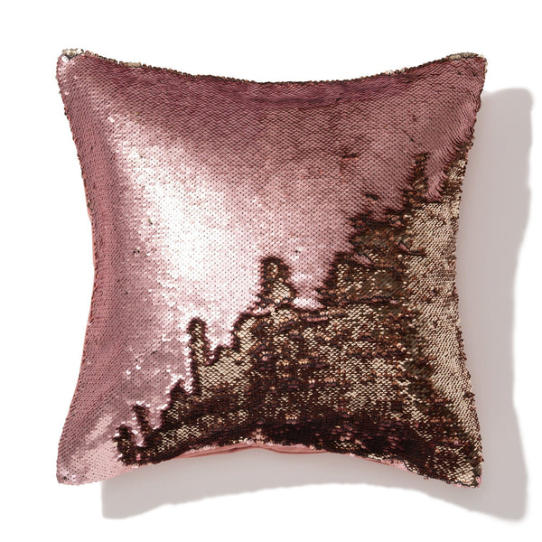 LUMAGE CUSHION COVER PINK X GOLD