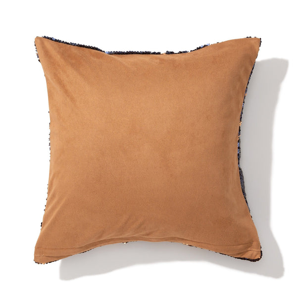 LUMAGE CUSHION COVER NAVY X GOLD