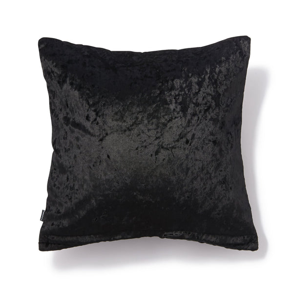 POLKARA CUSHION COVER 45X45 BLACK