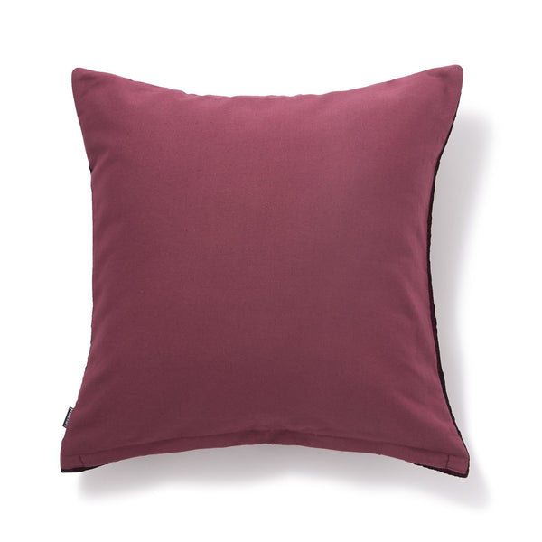 ERYTHEIA CUSHION COVER DARK RED