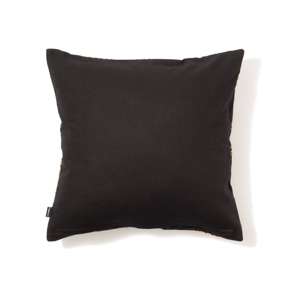 BRODERIE CUSHION COVER Black