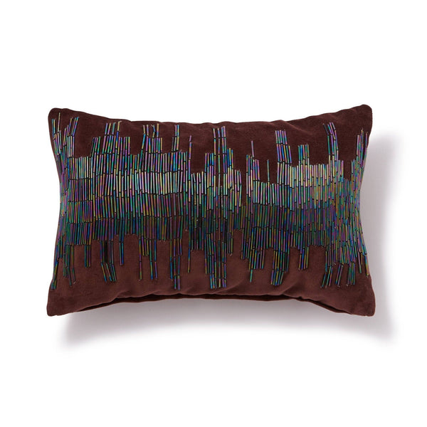 STICKERY CUSHION COVER DARK RED