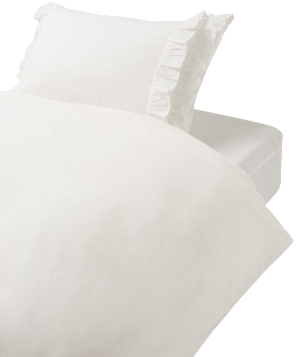 PAPILLOTE Comforter Case Single White
