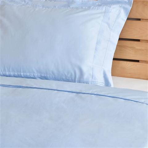 SMOOTHILL Comforter Case Double Light Blue