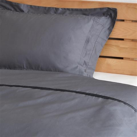 SMOOTHILL Comforter Case Double Gray