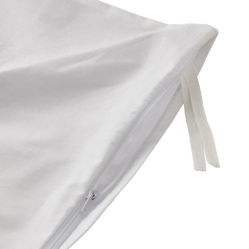 PARON Comforter Case Single White