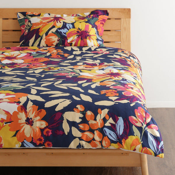 PRIMARLE Comforter Case Single Navy