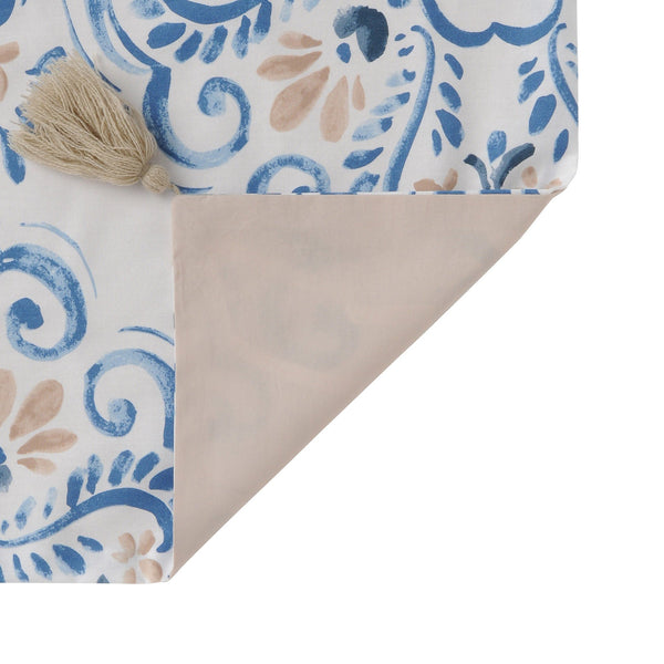 LUMIELLE Comforter Case Single Blue