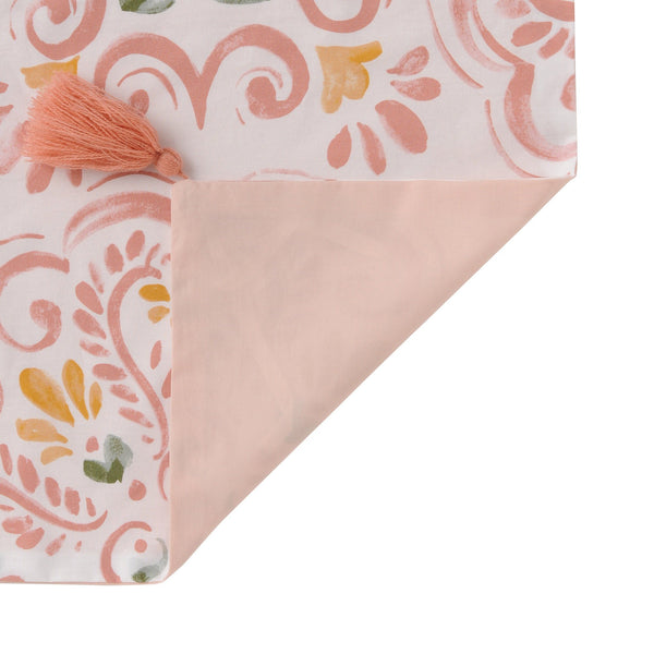 LUMIELLE Comforter Case Double Pink