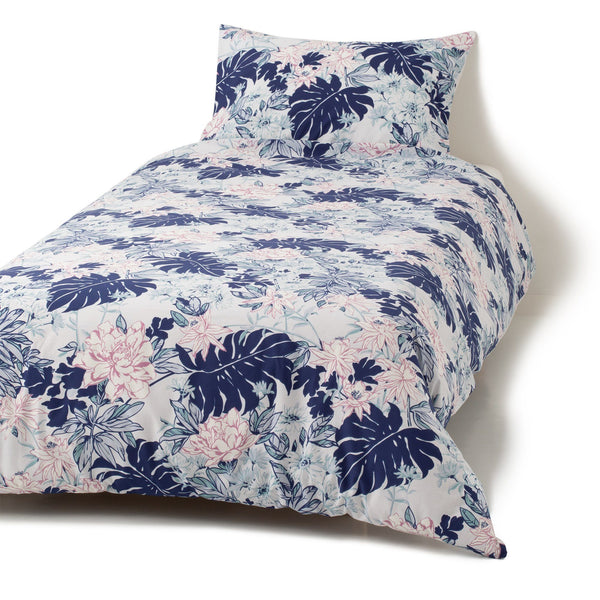 PRVOINE Comforter Case Double Blue