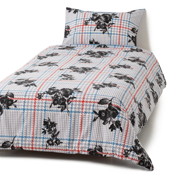 FABURE Comforter Case Single Light Blue