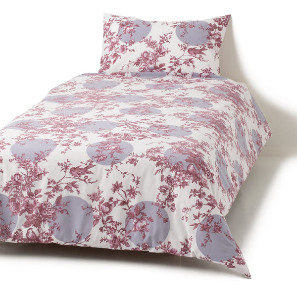 JOUY Comforter Case Single  Pink
