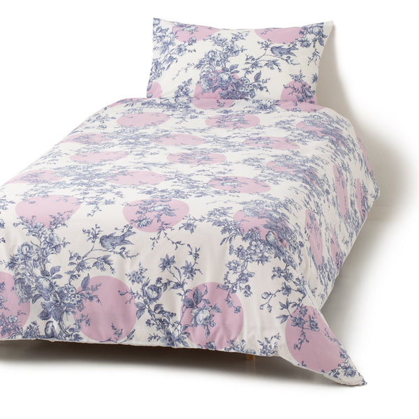 JOUY Comforter Case Double Blue