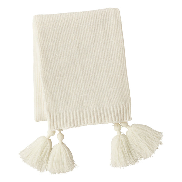 SHIRLEY Throw Ivory