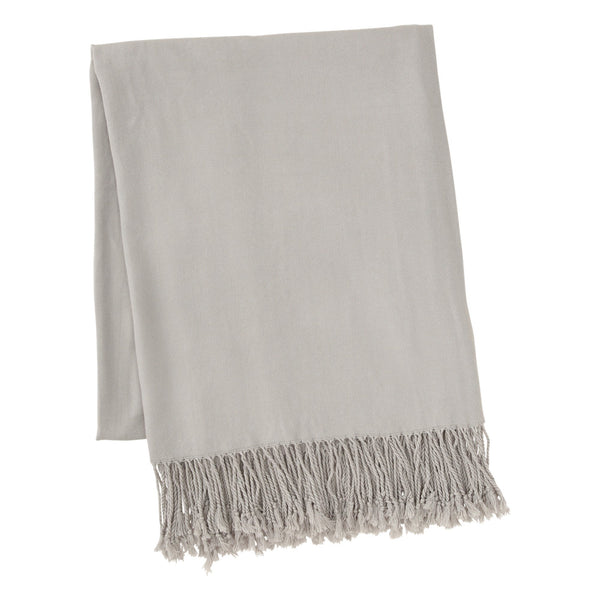 PERCY Throw Light Gray