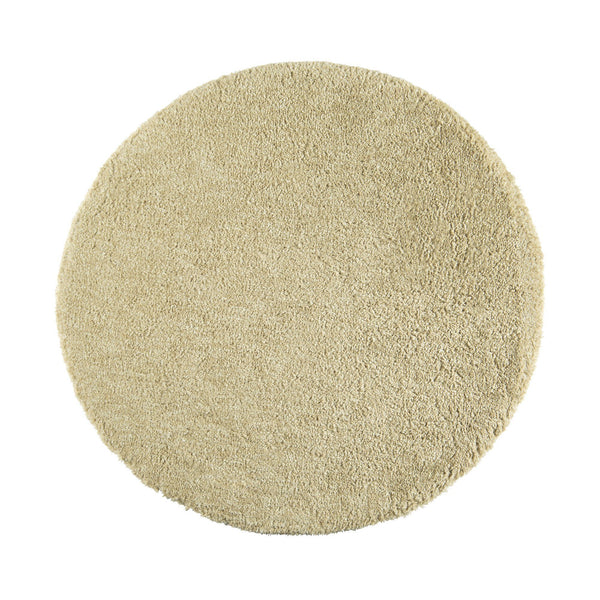 MARUNA ROUND RUG 150 Light Green (W1500 × D1500)