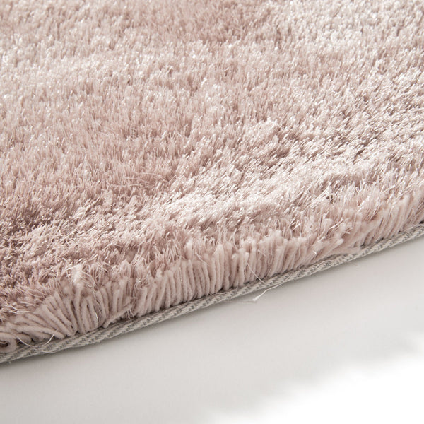 KASTE ROUND RUG 150 Light Pink (W1500 × D1500)