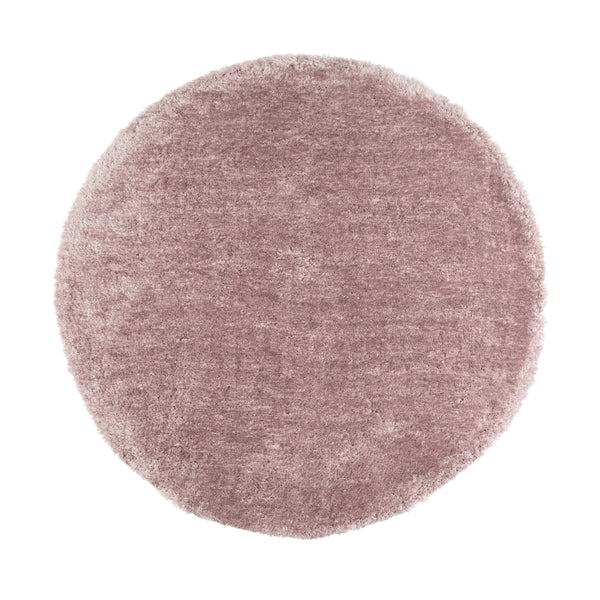 KASTE ROUND RUG 150 Light Purple (W1500 × D1500)