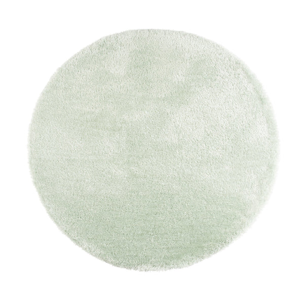 KASTE ROUND RUG 150 Light Green (W1500 × D1500)