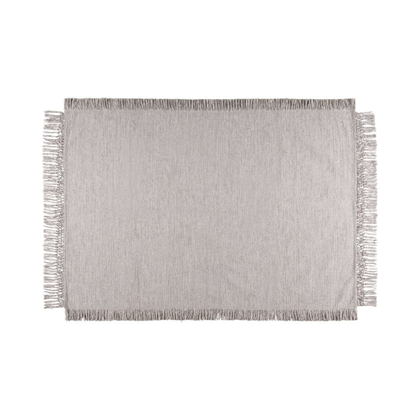 GLORIEUX COTTON RUG Medium Gray (W2000 x D1400)