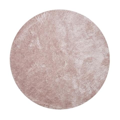 NUVOKASTE RUG 2000MM ROUND  LIGHT PINK