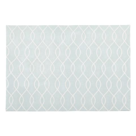 FIBY Rug M Light Gray