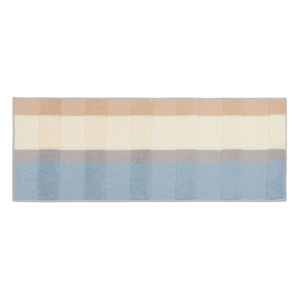LONTIE KITCHEN MAT 1200 Beige x Light Blue