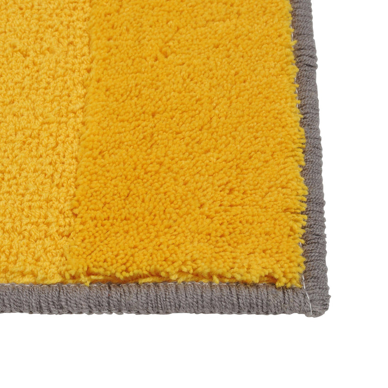 LONTIE Kitchen Mat 1800 Gray x Yellow
