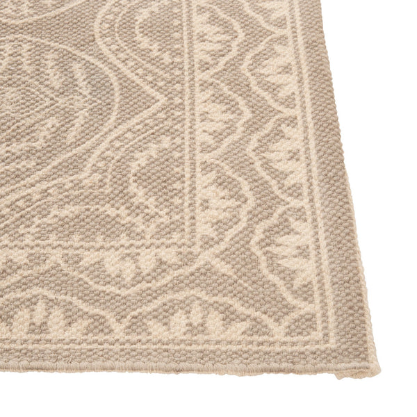 ALOGO RUG MEDIUM LIGHT GRAY