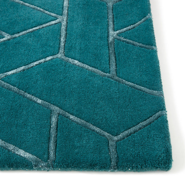 JACOB RUG MEDIUM BLUE