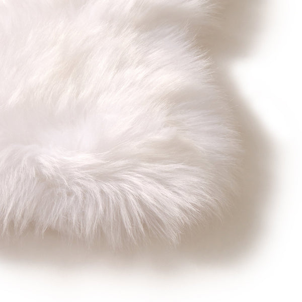 FUFFY RUG  88x49 White