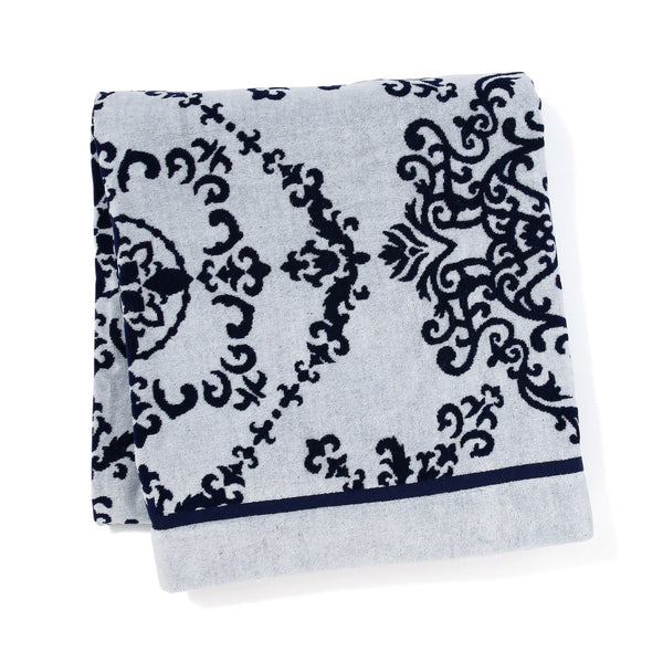 EMILE Summer Blanket 2000 X 1800 NAVY