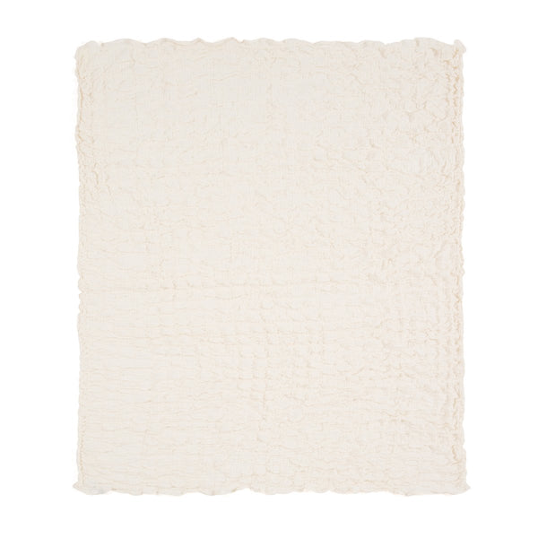 LAUDIA SUMMERBLANKET SINGLE WHITE
