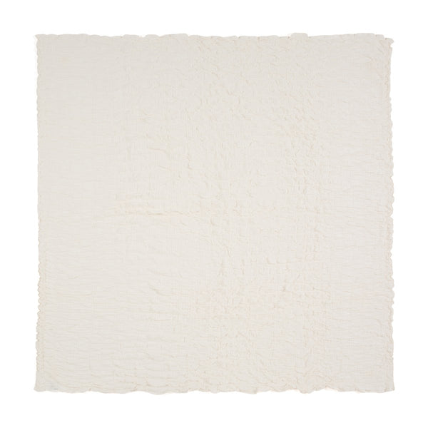 LAUDIA SUMMER BLANKET DOUBLE WHITE