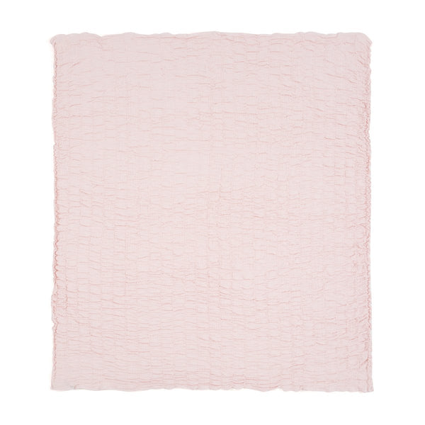 LAUDIA SUMMER BLANKET SINGLE LIGHT PINK