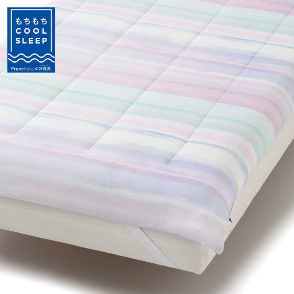FUWARO SUMMER BED PAD STRIPE S