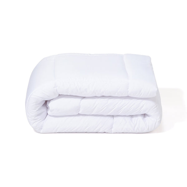 POLYESTER COMFORTER D WH