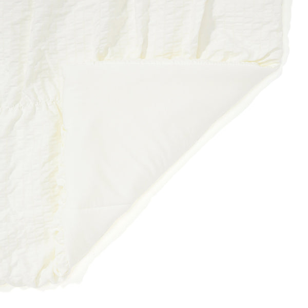 FUWARO COMFORTER GATHER 140 WHITE