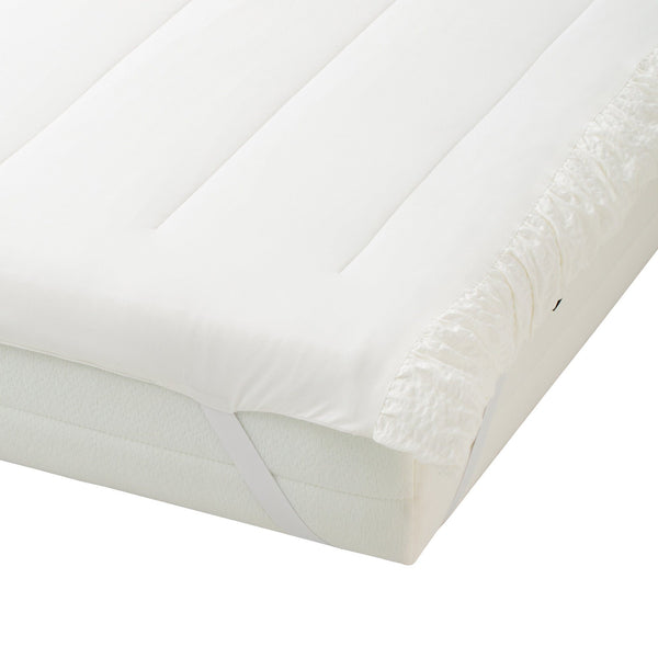FUWARO BED PAD GATHER 100 WHITE